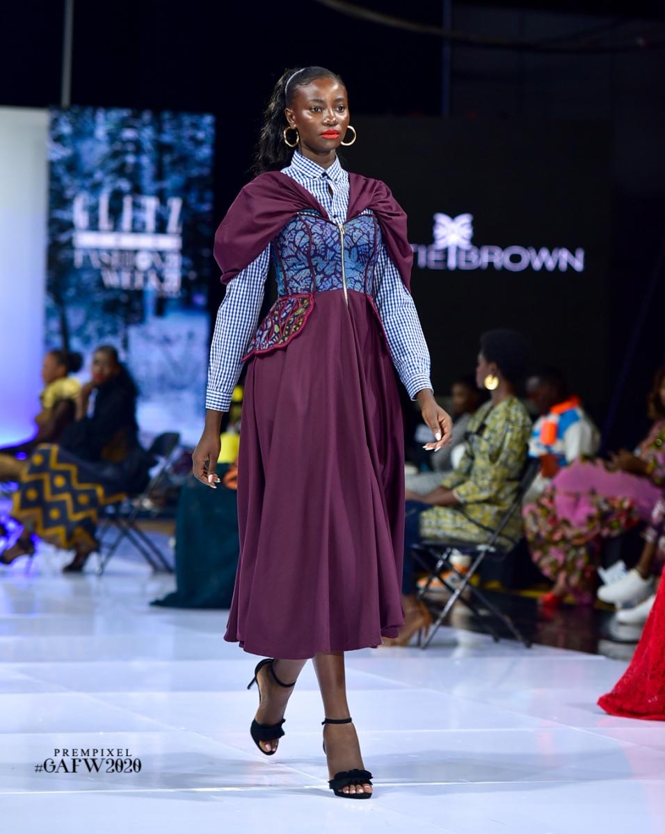 GLITZ AFRICA FASHION WEEK 2020 - CHRISTIE BROWN