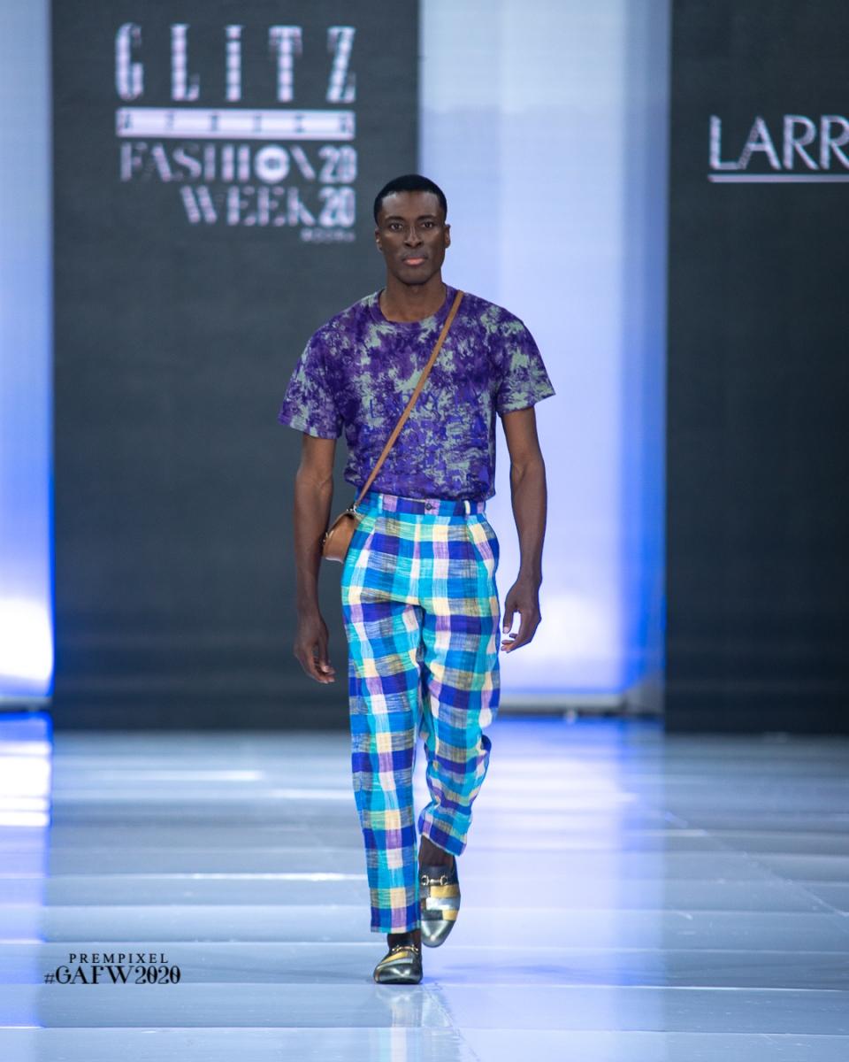 GLITZ AFRICA FASHION WEEK 2020 - LARRY JAY