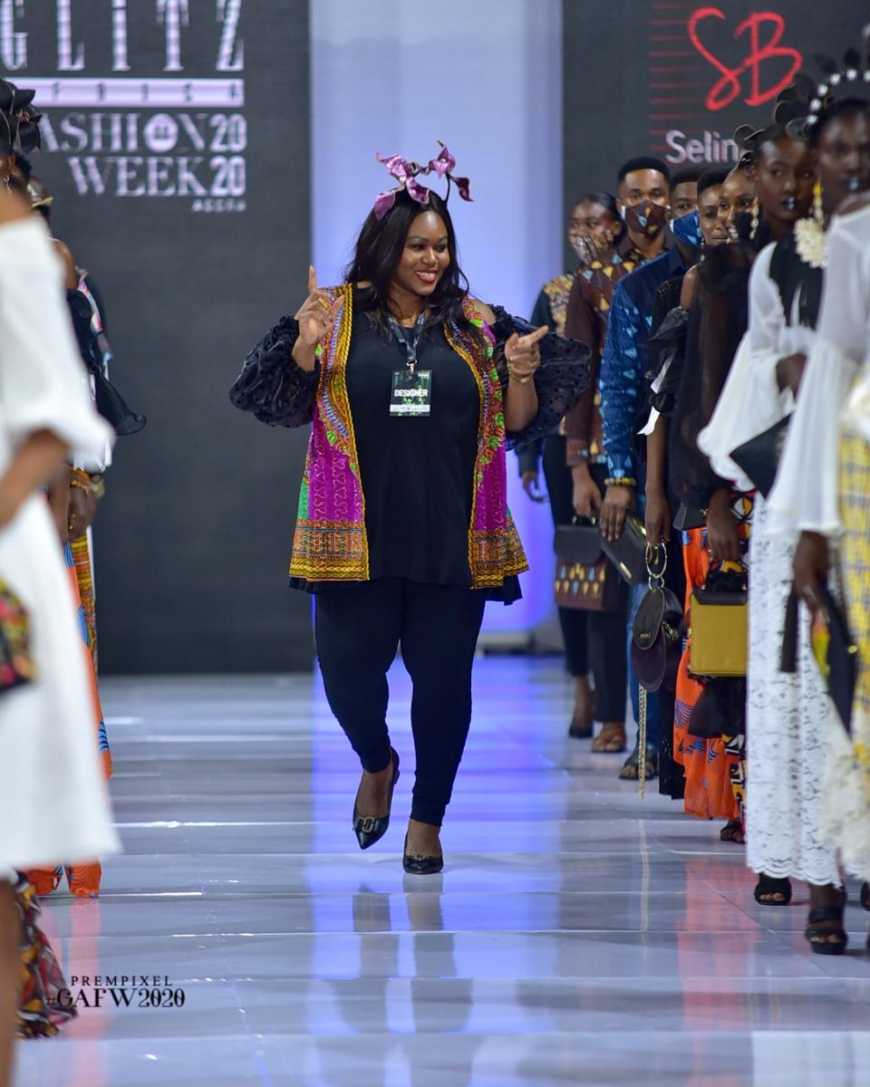 GLITZ AFRICA FASHION WEEK 2020 - SELINA BEB