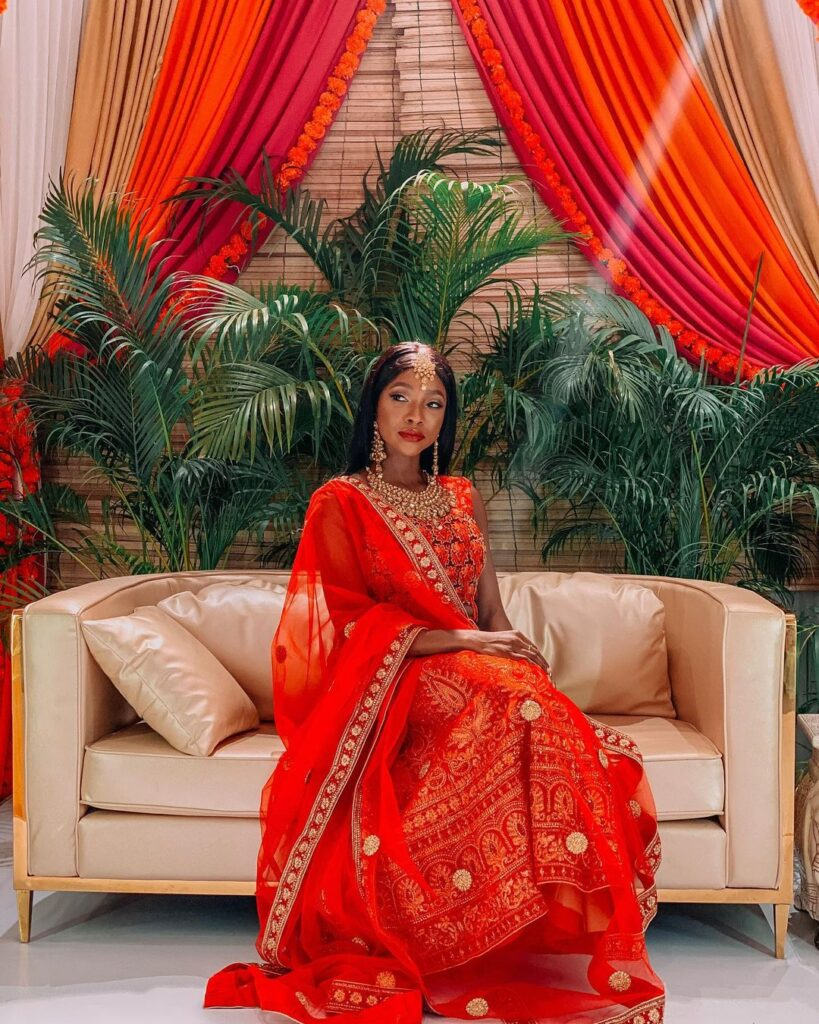 Namaste Wahala Starring Ini Dima-Okojie Trends No 1 in Nigeria