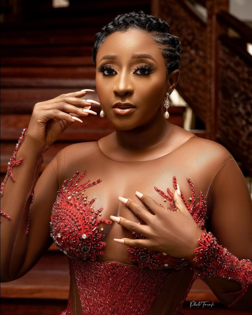 Ini Edo Is All About The Details in Custom VeeKee James