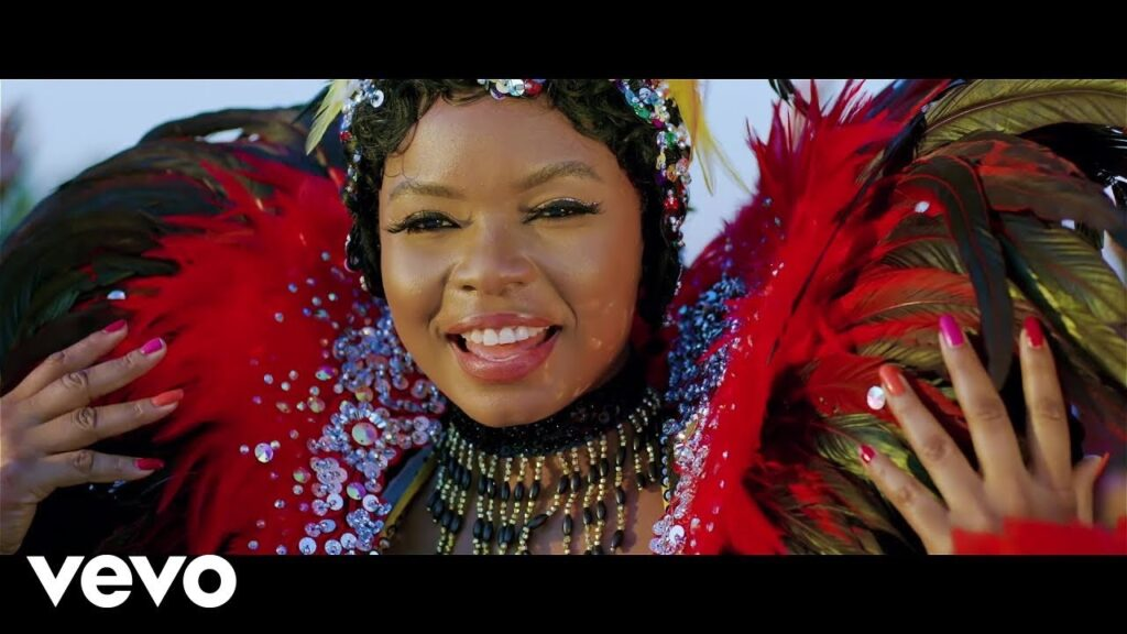 Yemi Alade's Turn Up Features Lots of Carnival Costume