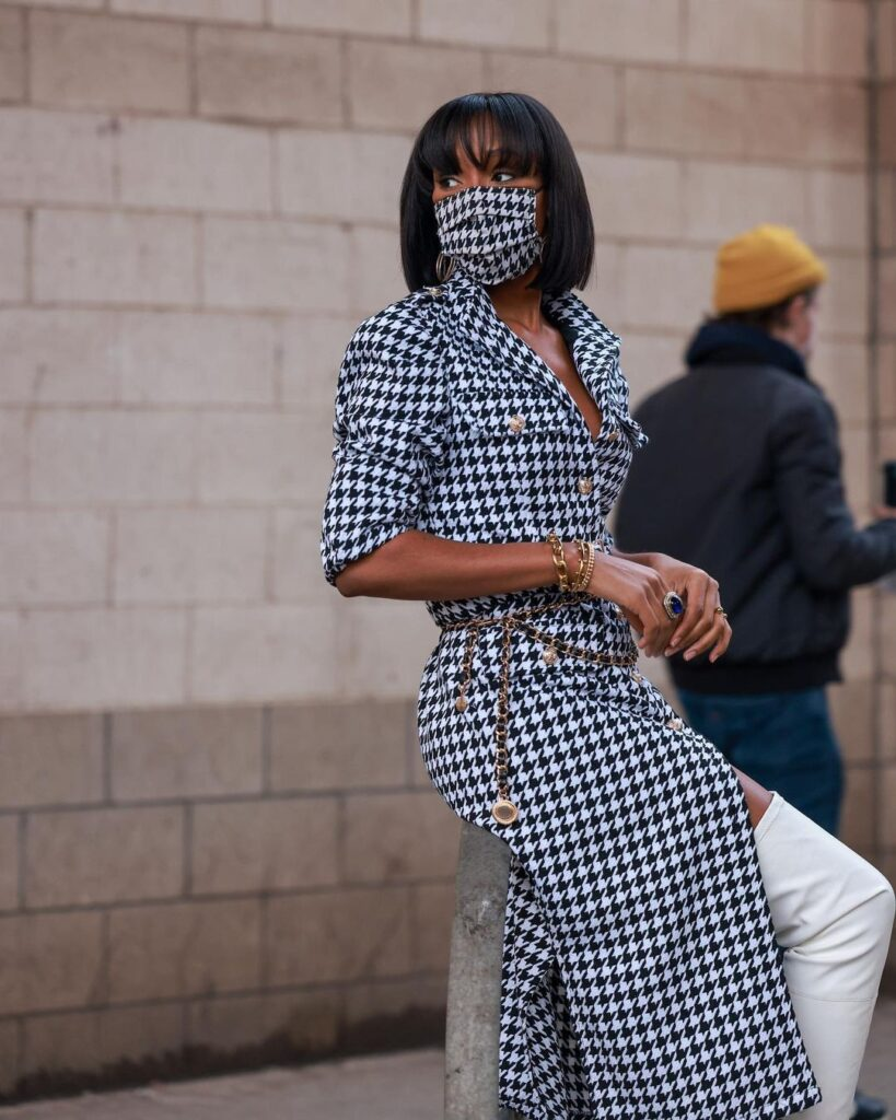 Let Chinyere Chi-Chi Adogu Love for Houndstooth Inspire Your Streetstyle