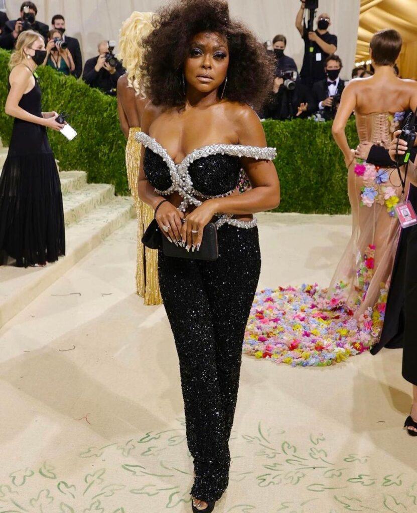 Taraji P. Henson MET Gala Look Is an Ode to Diana Ross