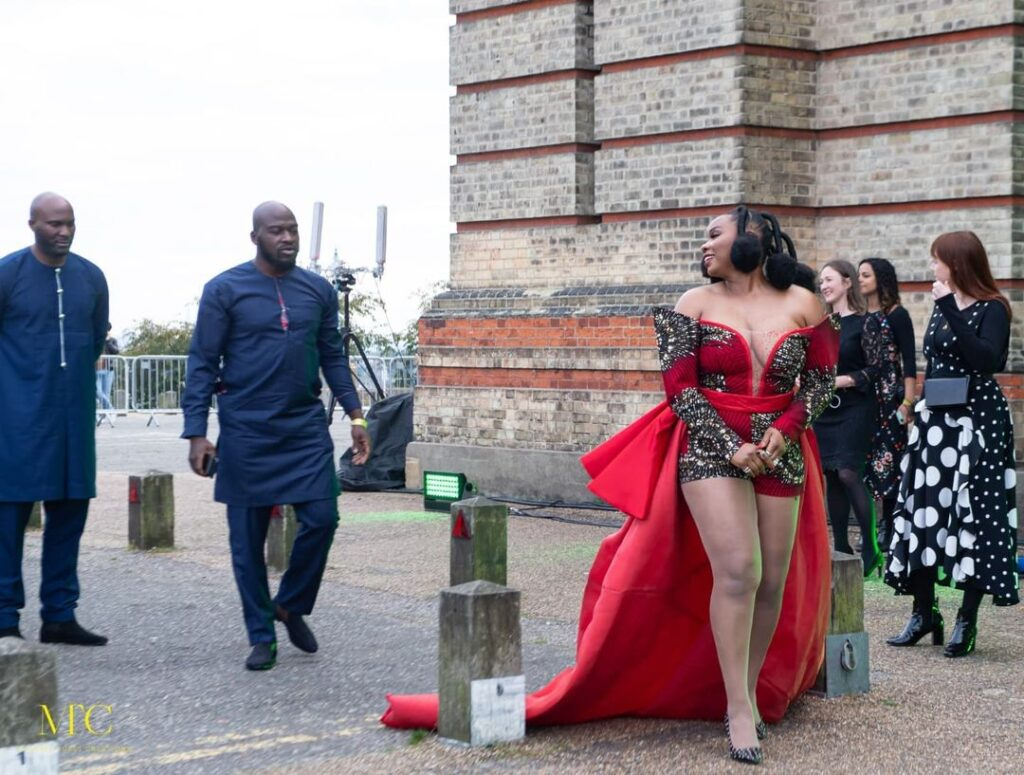 Yemi Alade Reps Africa at the 2021 Earthshot Prize Awards